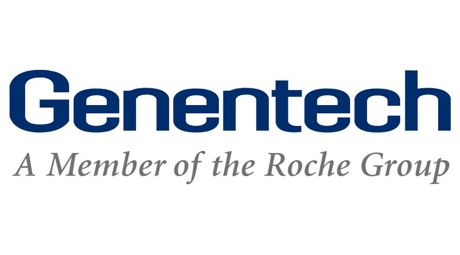 Genentech Logo, Gold Sponsor