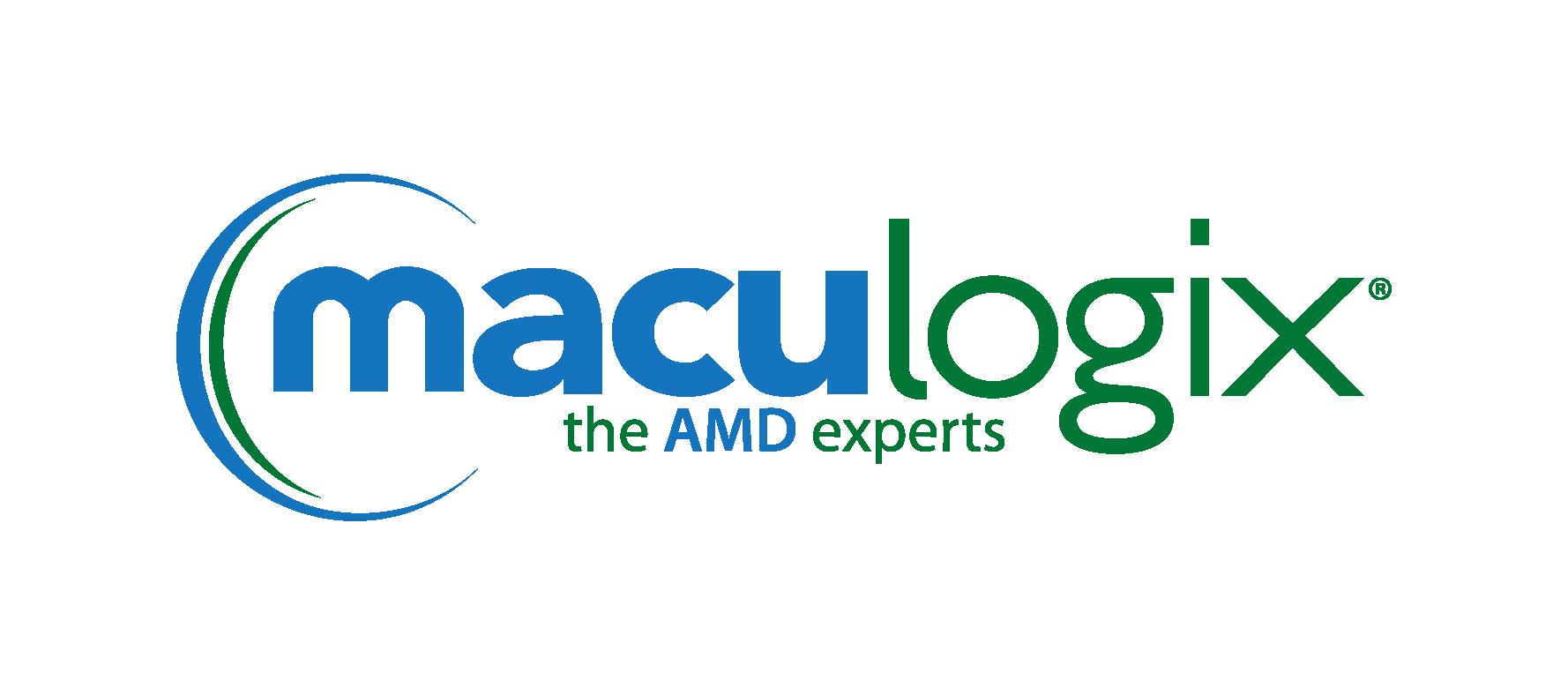 Maculogix Logo, Silver Sponsor